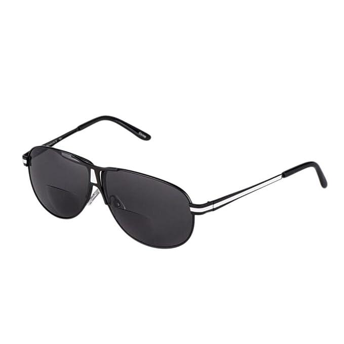Deylaying Moda Annata Raddoppiare lente Occhiali da lettura Occhiali da sole Per Donna Uomo Gradazione +1.00 +1.50 +2.00 +2.50 +3.00 +3.50 S8wtDVLLrx