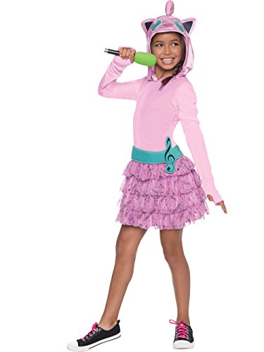 Rubie's Costume Pokemon Jigglypuff Child Hooded Costume Dress Costume, Small -