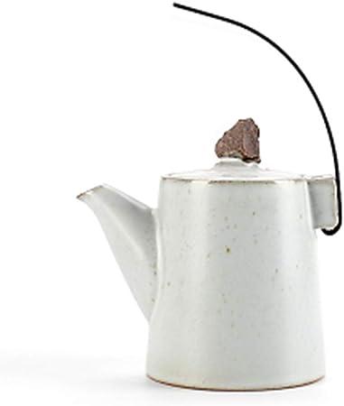 Cafetera Induccion Cafetera Italiana Express De Espresso Molinillo De Café Cafetera Clásica Manual Mantener Caliente Antigoteo Hogar Cerámica Mango De Hierro Trompeta GAOFENG (Color : Blanco): Amazon.es: Hogar