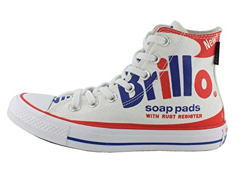 Converse Chuck Taylor All Star High (andy Warhol) Bianco / Rosso / Blu