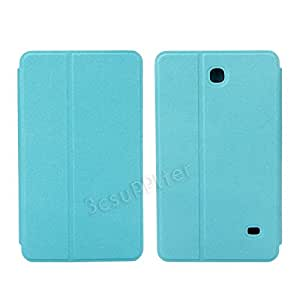 New Pu Leather Stand Case Cover for Samsung Galaxy Tab 4 7.0 7 Inch T230 (blue)