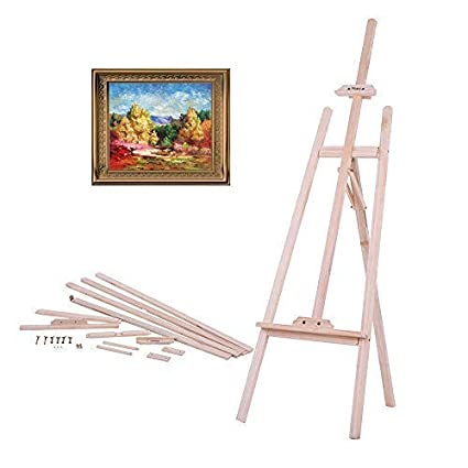 Exhibition Stand Drawing : Aibecy easel wooden artist sketch drawing stand nz pine professional