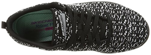 Black Running Multicolore Conenctions White Empire Skechers Femme fBqUW
