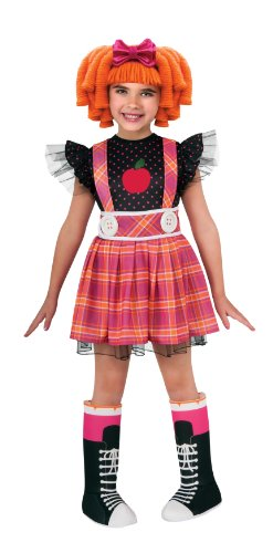 Lalaloopsy Deluxe Bee Spells A Lot Costume - (Rag Doll Toddler Costumes)