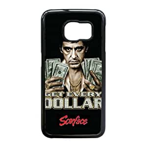 Al Pacino Scarface For Samsung Galaxy S6 Edge Cell Phone Case Black ADS069880