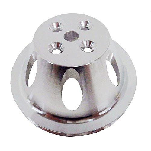 - For SB Chevy Aluminum Water Pump Pulley 1 Groove Swp Short Water Pump SBC 327 350