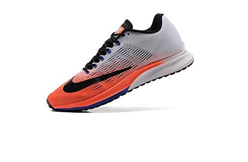 Nike Air Zoom Elite 9 Running Shoe (15, Hyper Orange/Black/White)