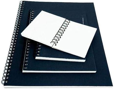 Seawhite A6 Portrait drap noir cartonnée Sketchbook