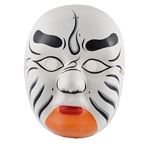 DealMux Plastic Halloween Party Chinese Culture Peking Opera Hand Painted -