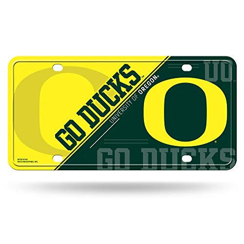 NCAA Oregon Ducks Metal License Plate Tag