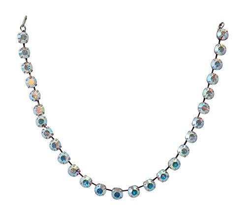 Mariana Clear AB Tennis Style Swarovski Crystal Necklace