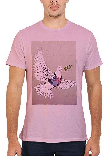 Banksy World Peace Peagon War Bird Novelty Men Women Damen Herren Unisex  Top T Shirt Verschiedene Farben: Amazon.de: Bekleidung