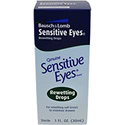 Bausch & Lomb Sensitive Eyes Rewetting Drops, 1 Ounce Bottle