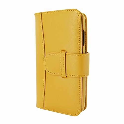 Piel Frama 793 Yellow WalletMagnum Leather Case for Apple iPhone X