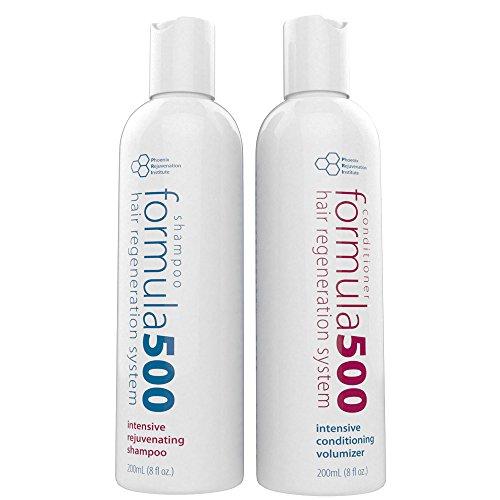 Phoenix Rejuvenation Institute Formula 500 Hair Growth Shampoo and Conditioner, 8 oz. Each by Phoenix Rejuvenation...