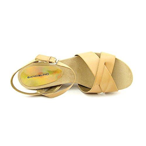 Bandolino Dreamaker de las mujeres sandalias de cuña Light Natural Synthetic