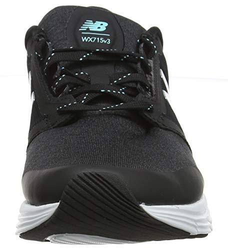 715v3 Balance Zapatillas Negro light black Mujer Re3 Tidepool heather Deportivas New Para Interior A5qUndAR4