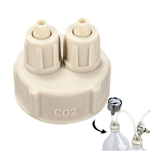 Corner Biz Aquarium - DIY CO2 System Kit Generator Accessories Bottle - Swim Discount Caps