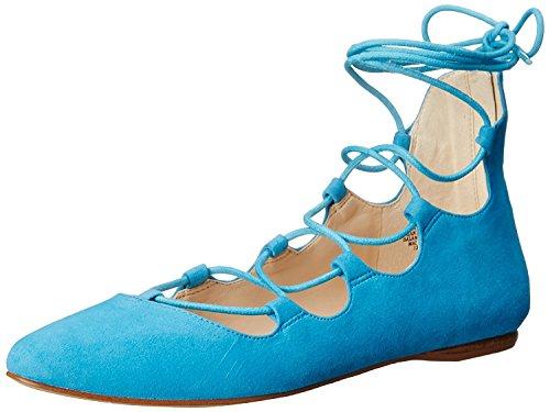B West 5 5 B UK EU Flat Ballet M 38 Signmeup Suede Turquoise Nine Women's M 6 RgdnwqR6