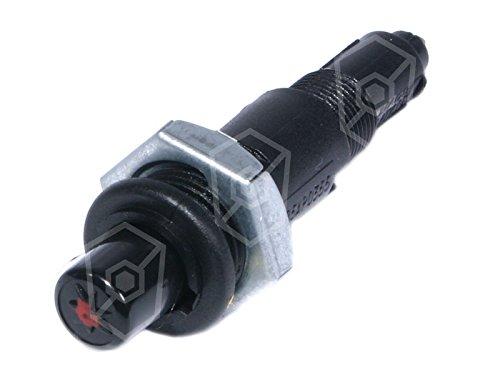 piézo-allumeur–drückend Front Mètre 26mm Mètre Diamètre encastrement: 18mm Douille de Raccordement rundsteck Ø 2,4mm aigu avant en plastique 26mm Gastroteileshop
