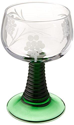 M. CORNELL IMPORTERS 5641 Rhein Wine Roemer - German Vase Glass