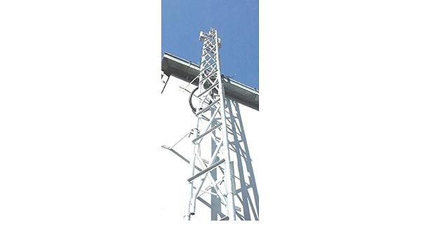 Torre de Enrejado de Acero de 8,2 m (guía) para Radio, Radio ...