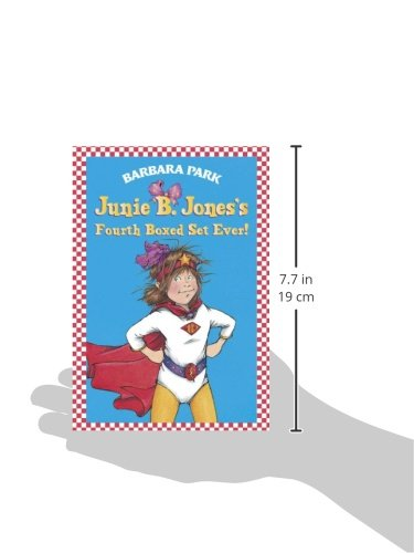 Junie B. Jones's Fourth Boxed Set Ever! (Books 13-16) by Random House Books for Young Readers (Image #2)
