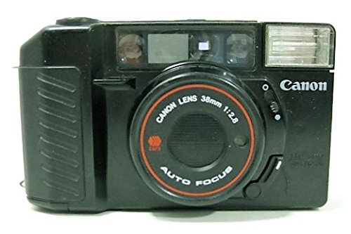 Canon Sure Shot 35mm point and shoot film camera with 38 mm f/2.8 Lens