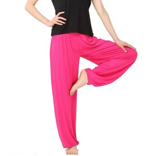 GOGO TEAM Womens Herem Pants Yoga Dance Fitness Sport Pilates Pants