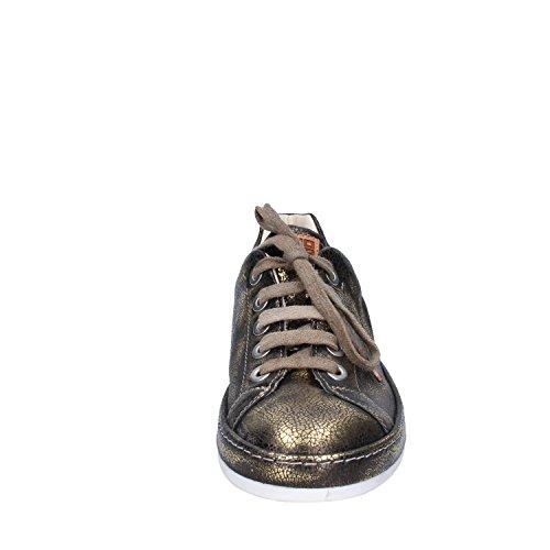 Dorado Moma De Para Mujer Cuero Zapatillas 8F1wa8