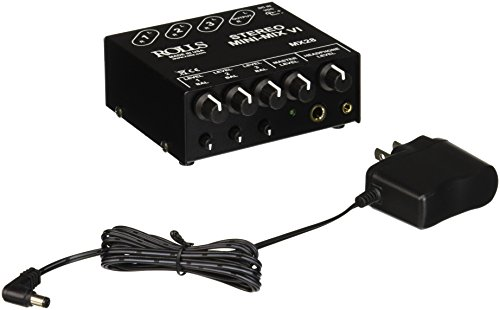 Rolls MX28 MINI MIX Three Channel Stereo product image