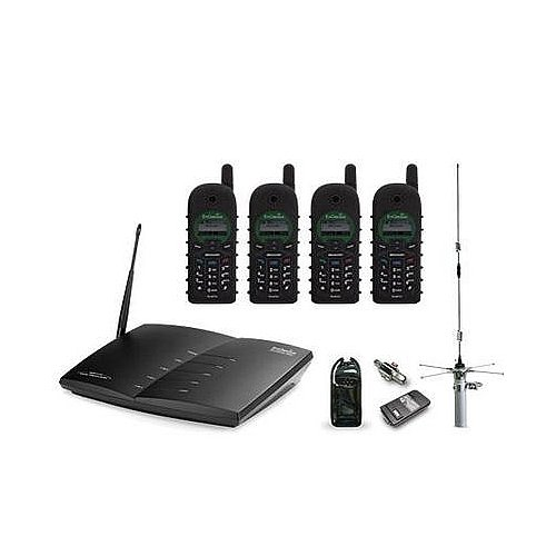 EnGenius DuraFonPro DURAFON PRO-PIB20L Cordless Phone - Cordless - 1 x Phone Line - 4 x Handset - Speakerphone - DURAFON - Unit Pro Durafon Base
