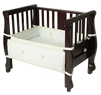 armu0027s reach cosleeper bassinet sleigh bed expresso