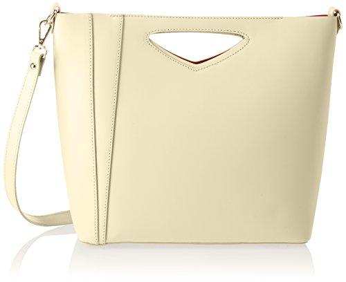 Chicca Borse 8611, Borsa a Spalla Donna, 36x28x12 cm (W x H x L) Giallo