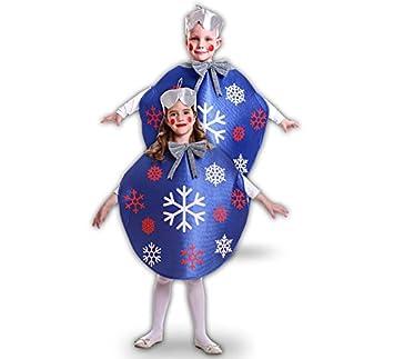 Disfraz de Bola De Navidad Azul para niños: Amazon.es: Juguetes y ...
