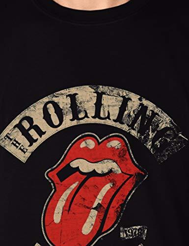Rolling Stones Tour 78 Mens Blk TS Camiseta, Negro (Black), Small para Hombre: Amazon.es: Ropa y accesorios