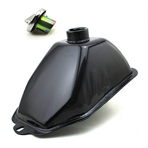 TC-Motor Metal Fuel Gas Tank + Fuel Tank Cap Cover For Chinese ATV Kids Quad 50cc 70cc 90cc 110cc 125cc 4 Wheeler