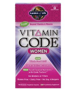 Garden of Life Vitamin Code Women 120 caps (Foods 120 Caps)