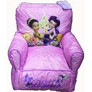 Amazon Com Disney Fairies Tinkerbell Bean Bag Chair For