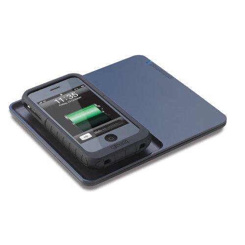 Gear4 PowerPad - Induktions-Lade-Unterlage für iPhone (inkl. entsprechendem iPhone Case)