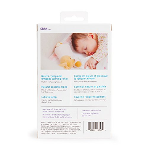 Large Product Image of Munchkin Shhh Portable Baby Sleep Soother Sound Machine