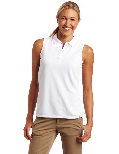 Columbia Womens Innisfree SL Polo Fishing Shirt (White, Medium)