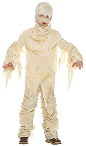 Mummy Costumes (Big Boys' Child Mummy Costume Small)
