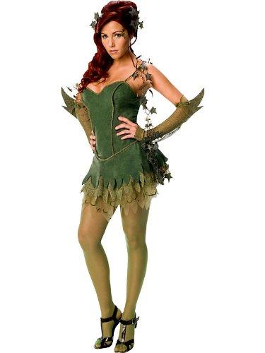 Con Costume (Secret Wishes Batman Poison Ivy Costume, Green,)