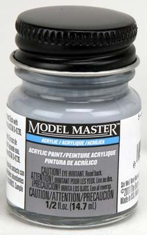 Testor Corp. MM 1/2 Ounce 5-H Haze Gray (SG) Acrylic Paint