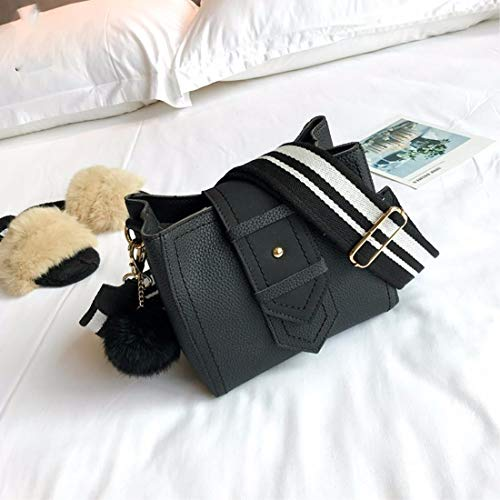 à la Bande épaule LIUXINDA à Seule la est l'épaule Sac Simple est des Mode Femme à BB Sac seaux Large 5qxqHwBpv