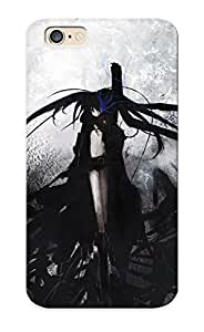 Improviselike Top Quality Case Cover For Iphone 6 Case With Nice Black Rock Shooter Appearance