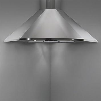 Falmec - Cappa ad Angolo Futura in Acciaio Inox da 100cm e Potenza ...