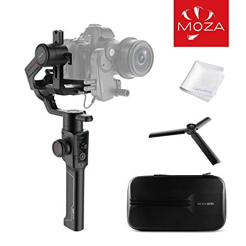 MOZA Air 2 3-Axis Handheld Gimabl Stabilizer OLED Display Smart Time-Lapse Lens Control System for DSLRs Mirrorless and Pocket Cinema Cameras 9lbs Payload (MOZA Air 2)