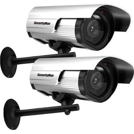 SecurityMan SM-3802-2PK Dummy Security Cameras